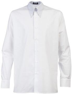 Camisa de manga larga blanca de Raf Simons