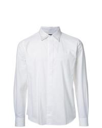 Camisa de manga larga blanca de Taakk