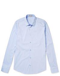 Camisa de manga larga celeste