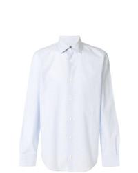 Camisa de manga larga celeste de A.P.C.