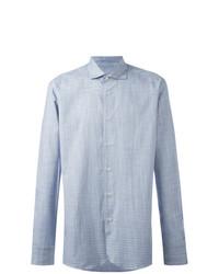 Camisa de manga larga celeste de Al Duca D'Aosta 1902