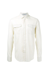 Camisa de manga larga en beige de Cerruti 1881