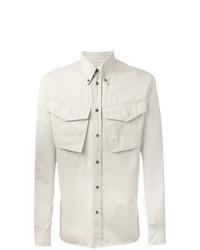 Camisa de manga larga en beige de DSQUARED2