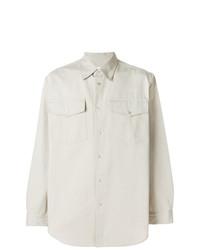 Camisa de manga larga en beige de Ih Nom Uh Nit
