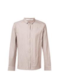 Camisa de manga larga en beige de Individual Sentiments