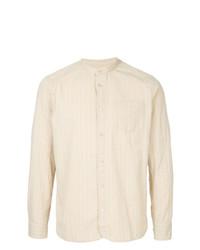 Camisa de manga larga en beige de Kent & Curwen