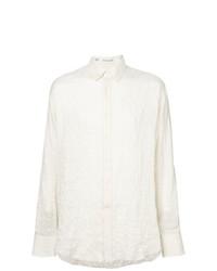 Camisa de manga larga en beige de Vangher