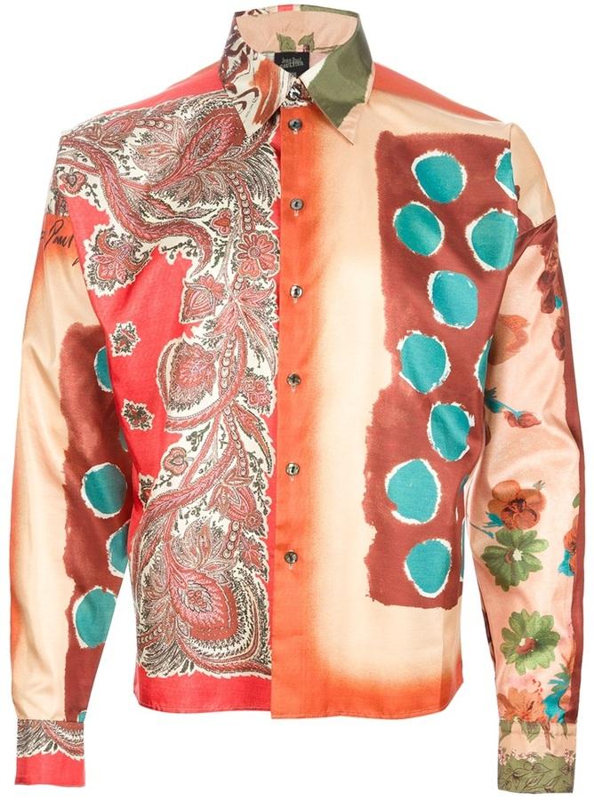 Camisa de manga larga en multicolor de Jean Paul Gaultier