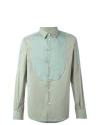 Camisa de manga larga en verde menta de Al Duca D'Aosta 1902