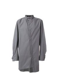 Camisa de manga larga gris de Bmuet(Te)