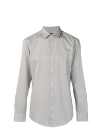 Camisa de manga larga gris de BOSS HUGO BOSS