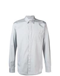 Camisa de manga larga gris de Comme Des Garçons Shirt Boys