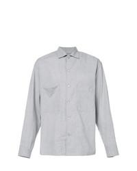 Camisa de manga larga gris de Lemaire