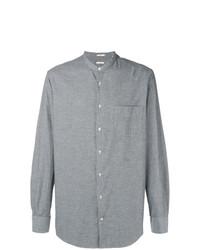 Camisa de manga larga gris de Massimo Alba