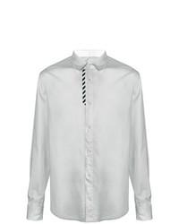 Camisa de manga larga gris de Off-White