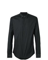 Camisa de manga larga negra de Les Hommes
