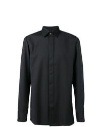 Camisa de manga larga negra de Matthew Miller