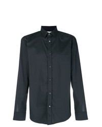 Camisa de manga larga negra de Mauro Grifoni