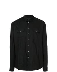 Camisa de manga larga negra de RH45