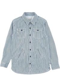 Camisa de Manga Larga Vaquera Celeste de Stella McCartney
