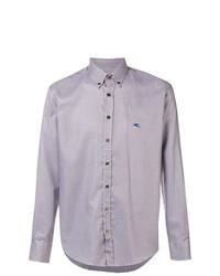Camisa de manga larga violeta claro de Etro