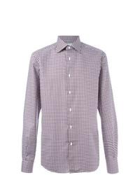 Camisa de manga larga violeta claro de Fashion Clinic Timeless