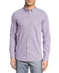 Camisa de Manga Larga Violeta Claro de Ted Baker