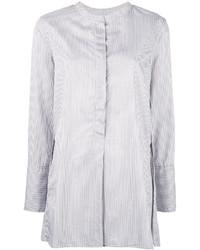Camisa de rayas verticales blanca de Isabel Marant