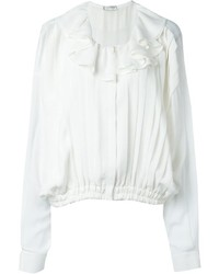 Camisa de seda blanca de Faith Connexion