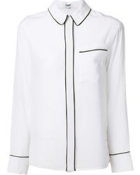 Camisa de seda blanca de Kenzo