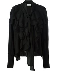 Camisa de seda negra de Faith Connexion