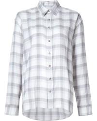 Camisa de tartán blanca de Faith Connexion