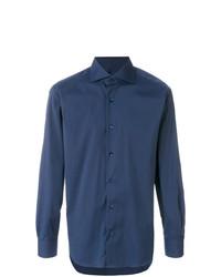 Camisa de vestir azul marino de Barba