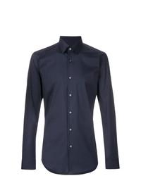 Camisa de vestir azul marino de BOSS HUGO BOSS