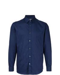 Camisa de vestir azul marino de Gieves & Hawkes