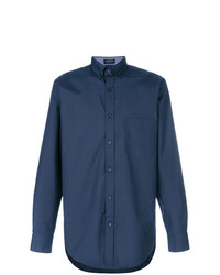 Camisa de vestir azul marino de Paul & Shark
