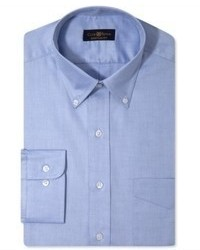 Camisa de vestir azul