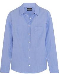Camisa de vestir azul de J.Crew