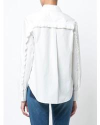 Camisa de vestir blanca de Derek Lam 10 Crosby