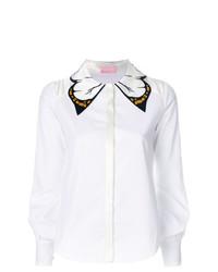 Camisa de vestir blanca de Giamba