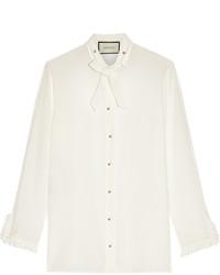 Camisa de vestir blanca de Gucci