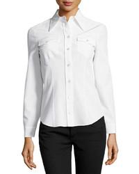 Camisa de vestir blanca de Michael Kors
