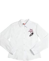 Camisa de vestir blanca de MSGM