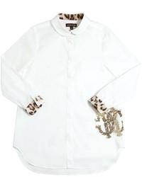 Camisa de vestir blanca de Roberto Cavalli