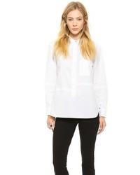 Camisa de vestir blanca de Victoria Beckham