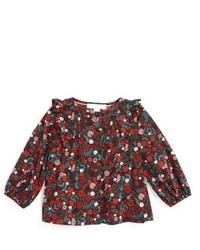 Camisa de vestir burdeos