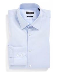 Camisa de vestir celeste