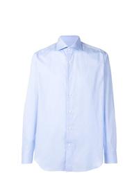Camisa de vestir celeste de Alessandro Gherardi
