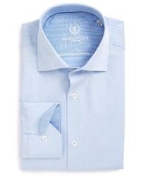 Camisa de Vestir Celeste de Bugatchi