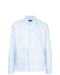 Camisa de vestir celeste de D'urban